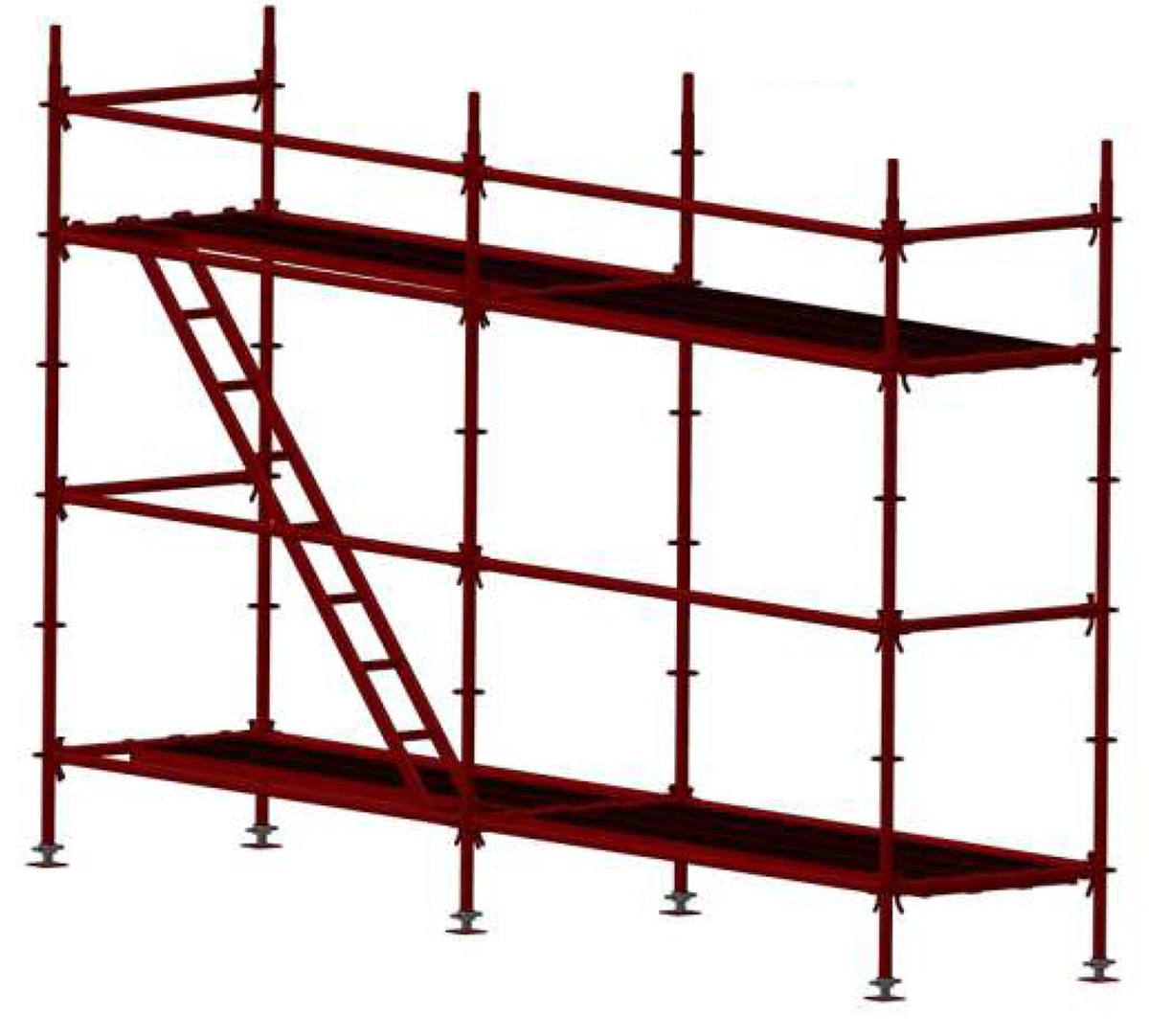 Flanged-Scaffoldings-System